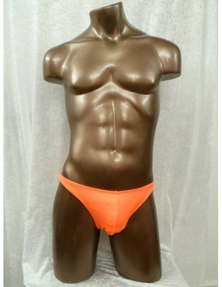 Bright Orange Lycra Trunks