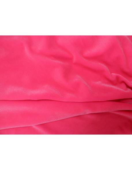 Candy Pink Smooth Velvet