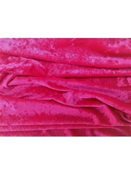 Cerise Crushed Velvet
