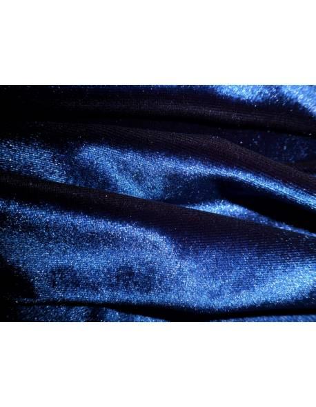 Navy Blue Smooth Velvet