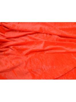 Tango Orange Crushed Velvet