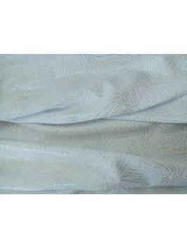 White Swirl Foil