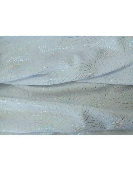White Swirl Lycra