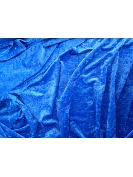Royal Blue Crushed Velvet