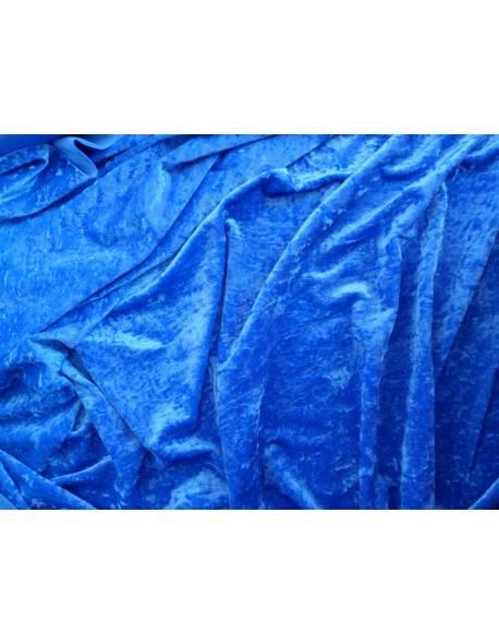 Royal Blue Smooth Velvet