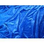 Royal Blue Crushed Velvet