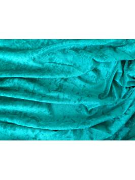 Jade Green Crushed Velvet