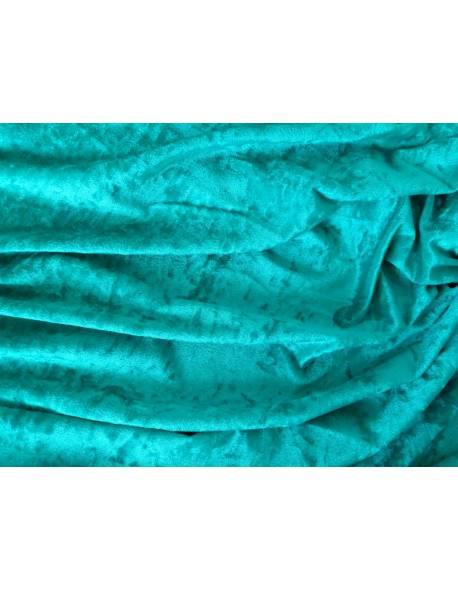 Jade Green Crushed Velvet