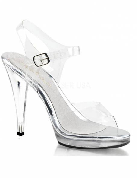 Flair 408 1/2 inch Platform 4.5 Inch Heel