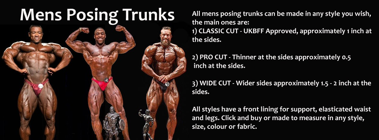 Mens Posing Trunks